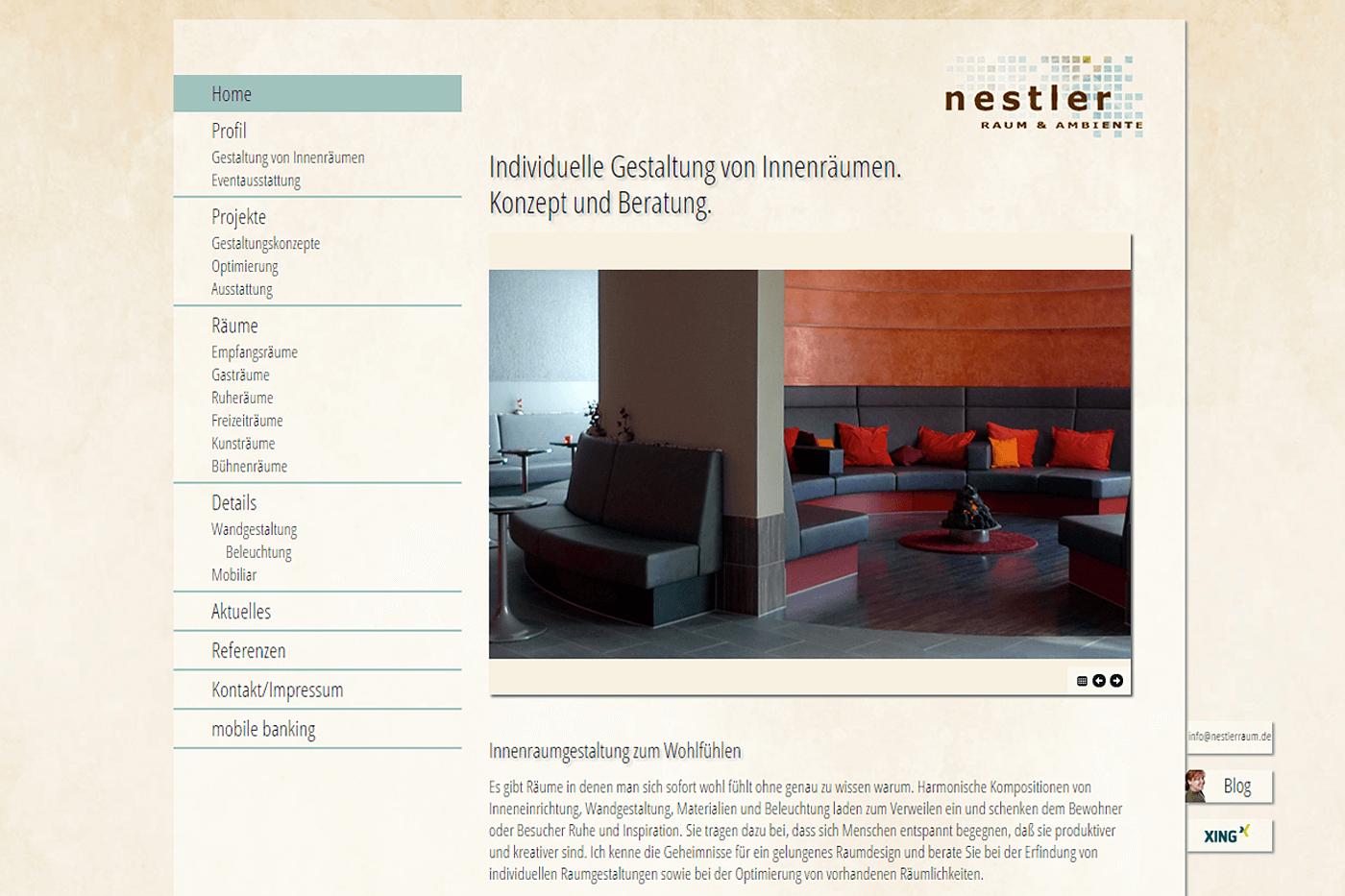 Webdesign Aus Wiesbaden Pixel Mehr Web Projekt Nestler